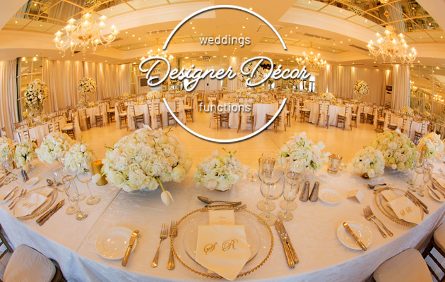 wedding decor, function decor, wedding co-ordinator, draping, décor, flowers, decor lighting effects, furniture hire, staging, catering, wedding food, function
